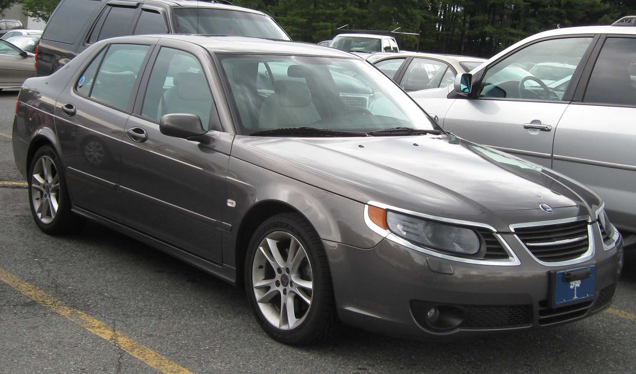saab 9-5 wallpaper #11