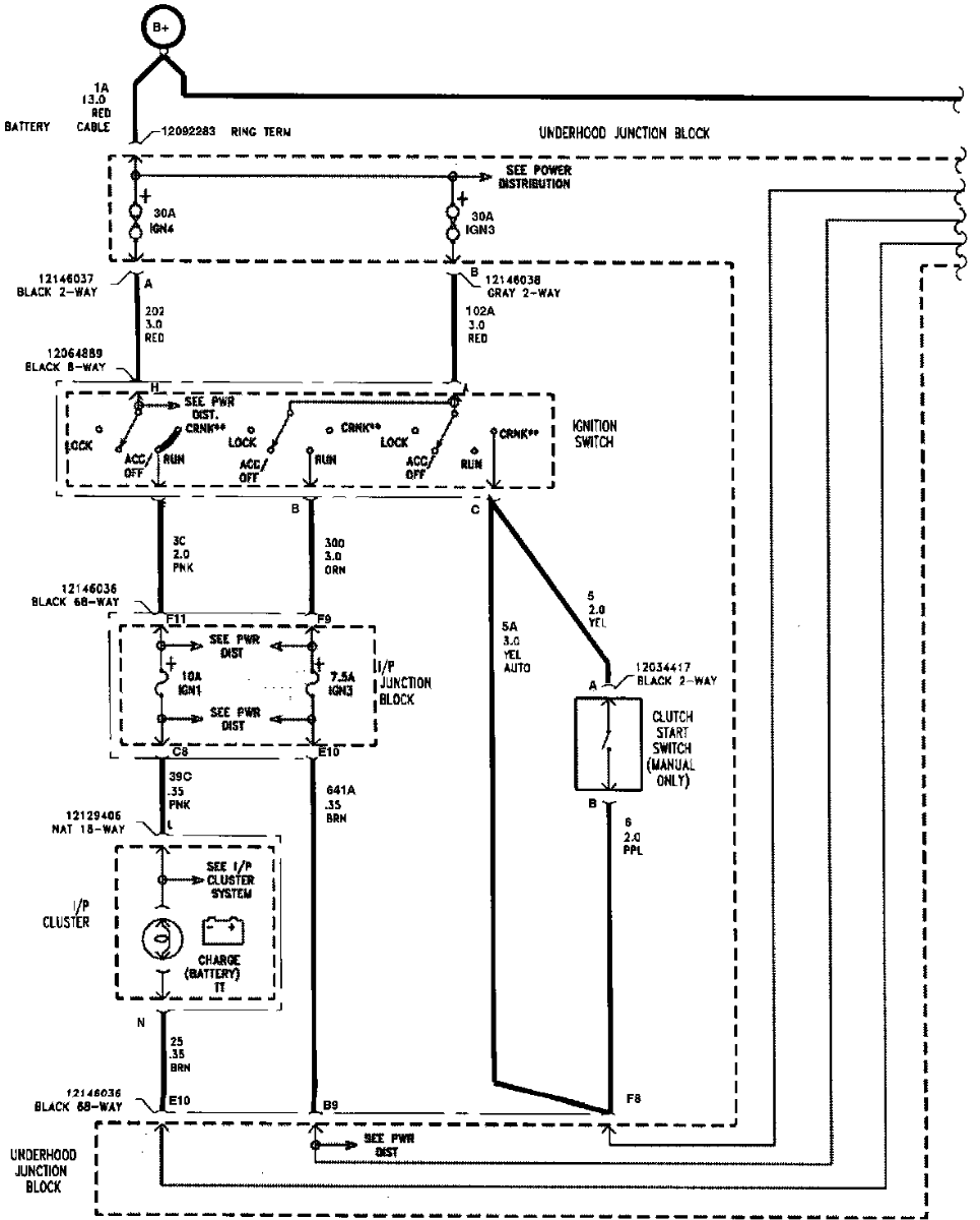 1997 Saturn Engine Wiring Harness Replacement Diagrams 2004 Ford Freestar Sc2 Fuse Box Diagram 300e Oem Gm