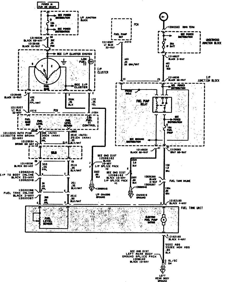 Auto Fuse Block Diagram Wiring Will Be A Thing Gm Box Schematic Saturn Sl Transmission Harness 37