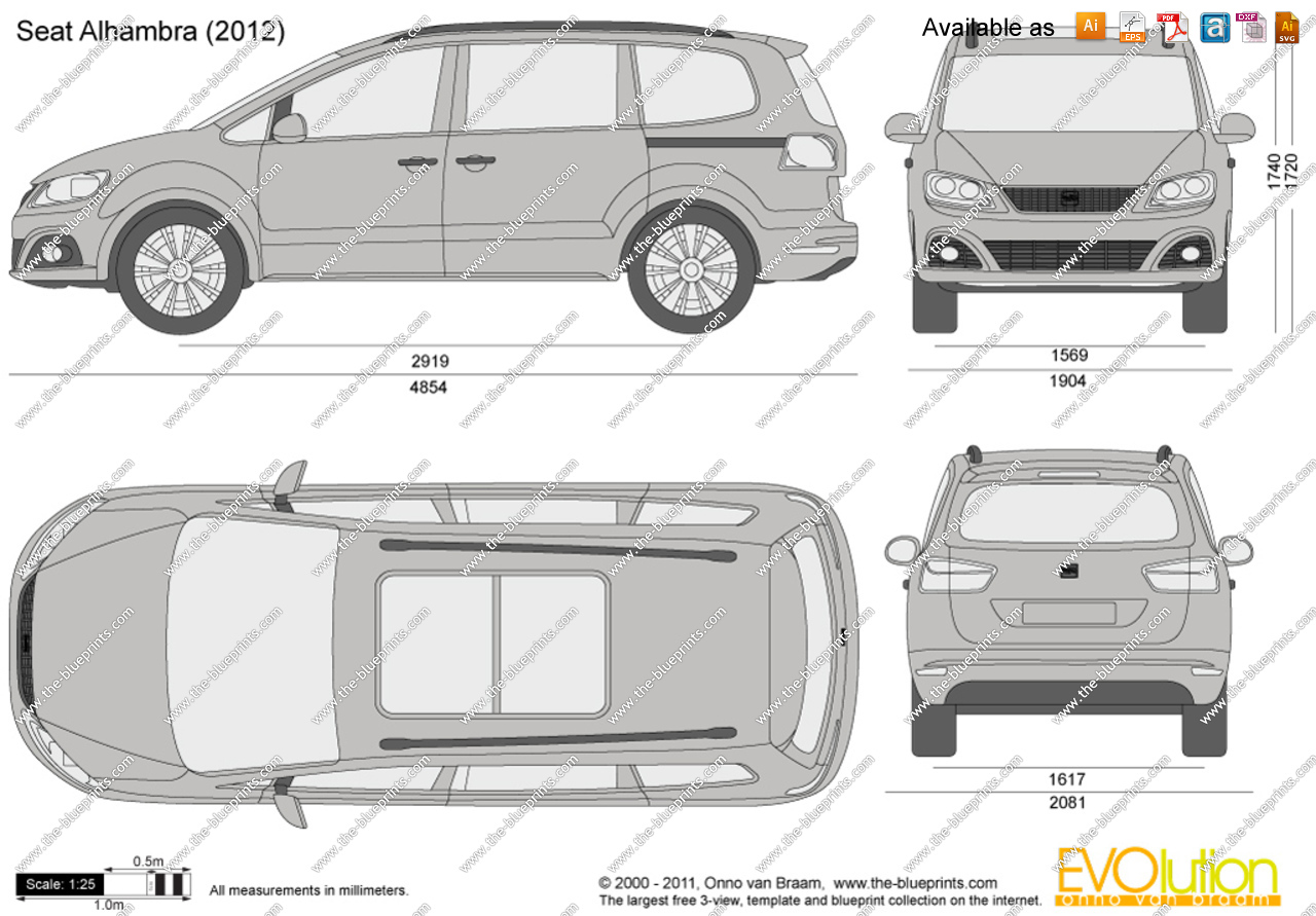 2005 Seat Alhambra (7ms) – pictures, information and specs - Auto ...