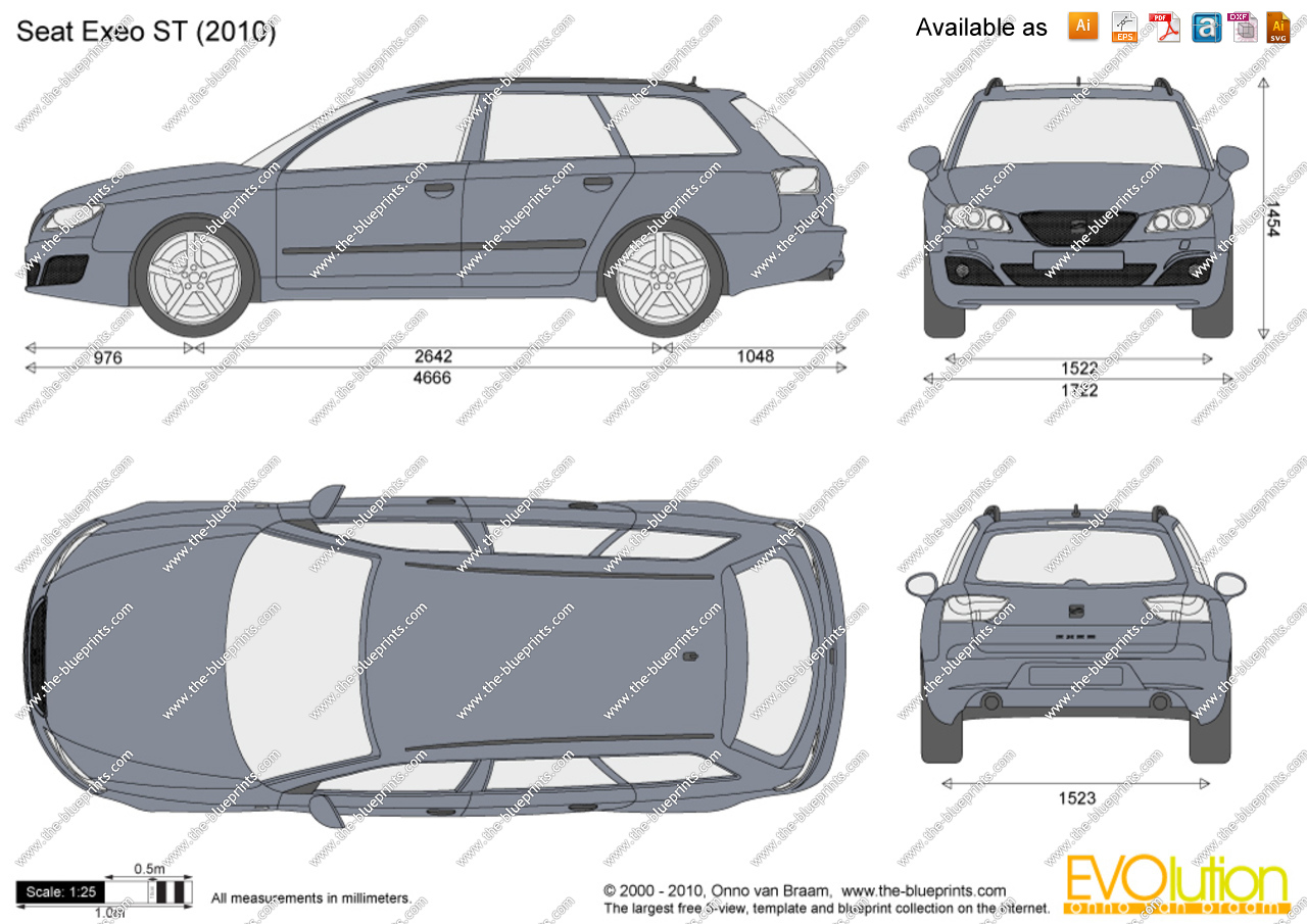 seat exeo st 2011 pictures