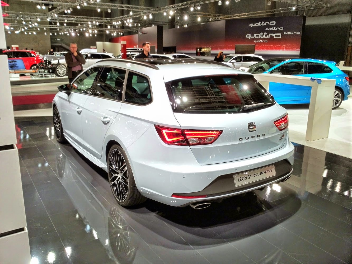 seat exeo st 2015 pictures
