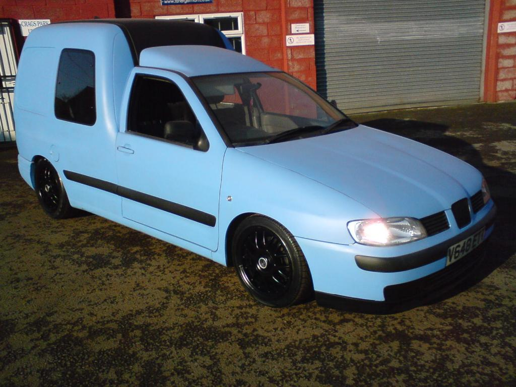 1996 Seat Inca Pictures Information And Specs Auto Database Com