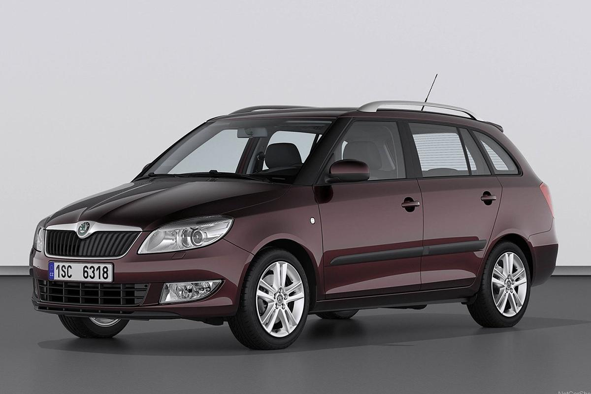 skoda fabia ii estate 2010 images