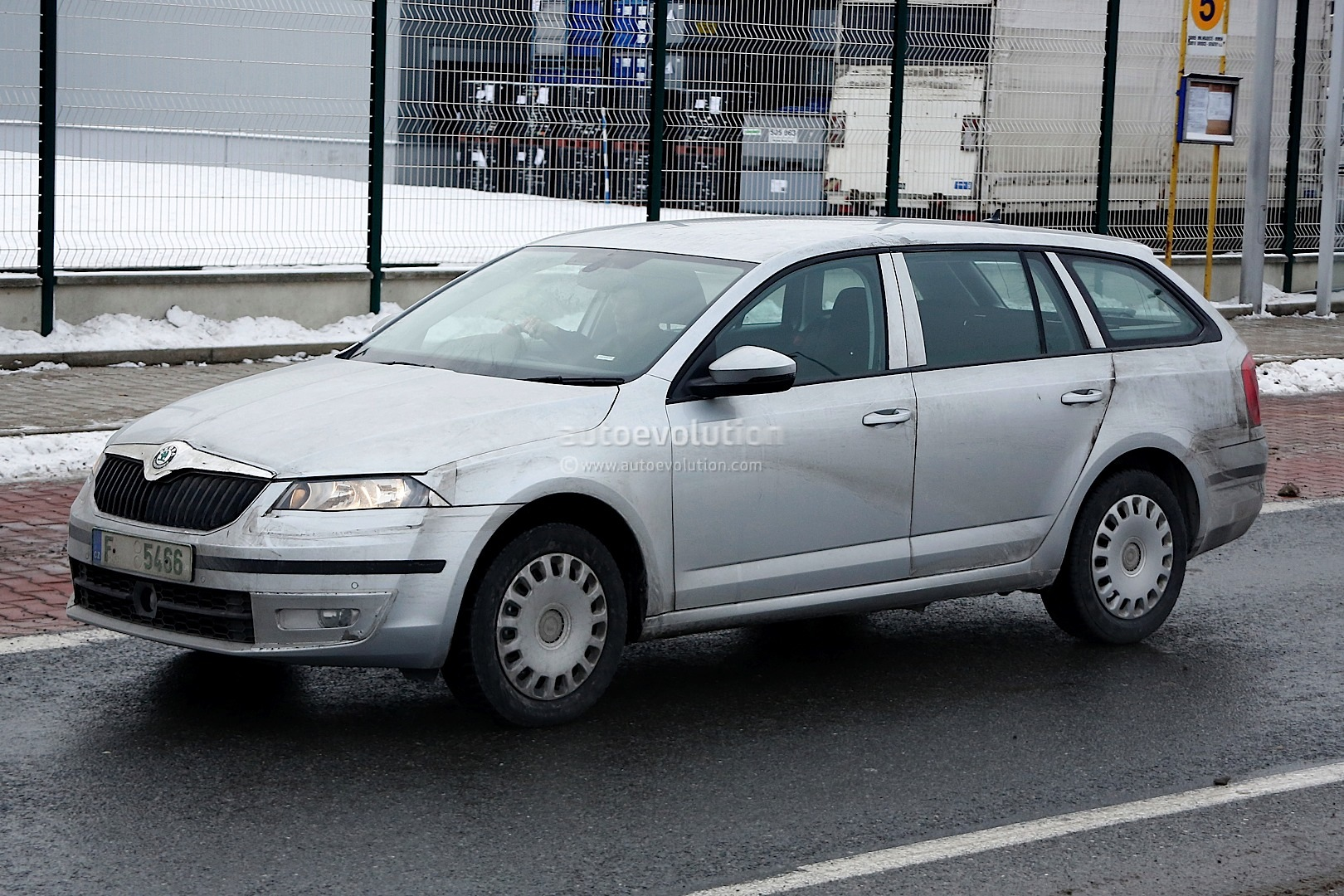 skoda fabia ii estate 2013