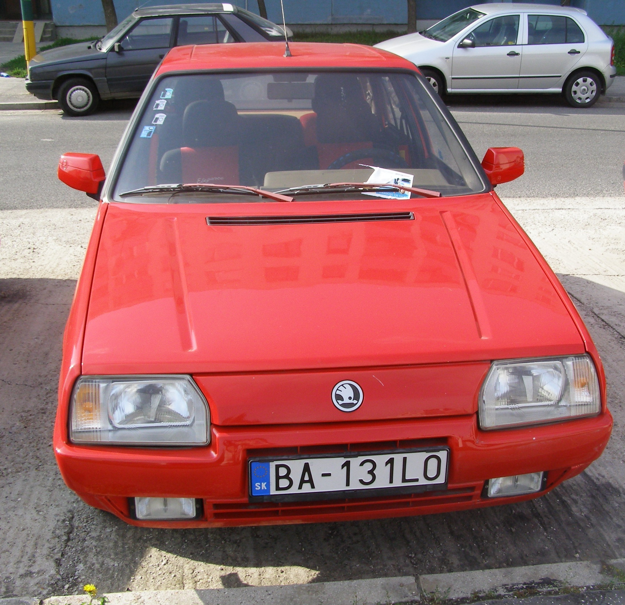 skoda favorit forman (785) 1993 pics
