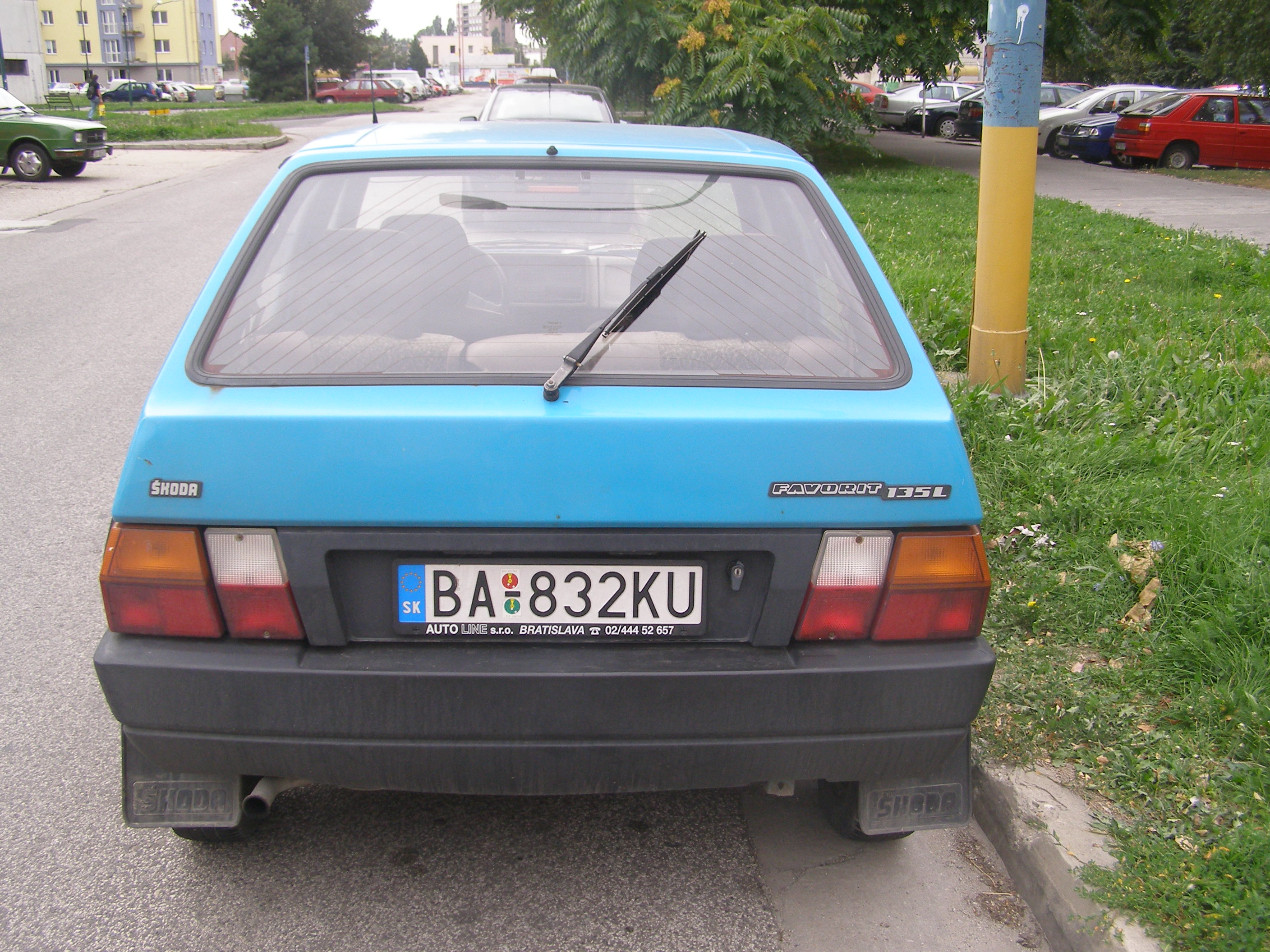 skoda favorit forman (785) 1993 pictures