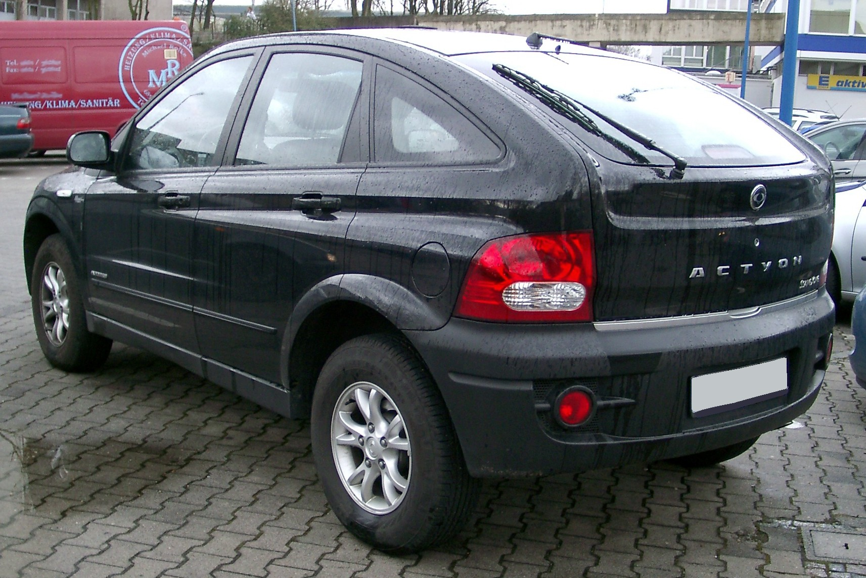 ssangyong actyon 2007 images