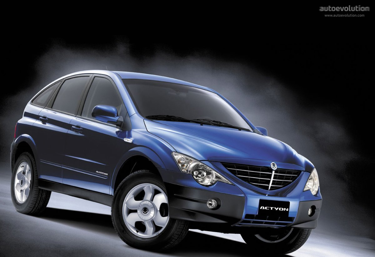 ssangyong actyon 2007 models
