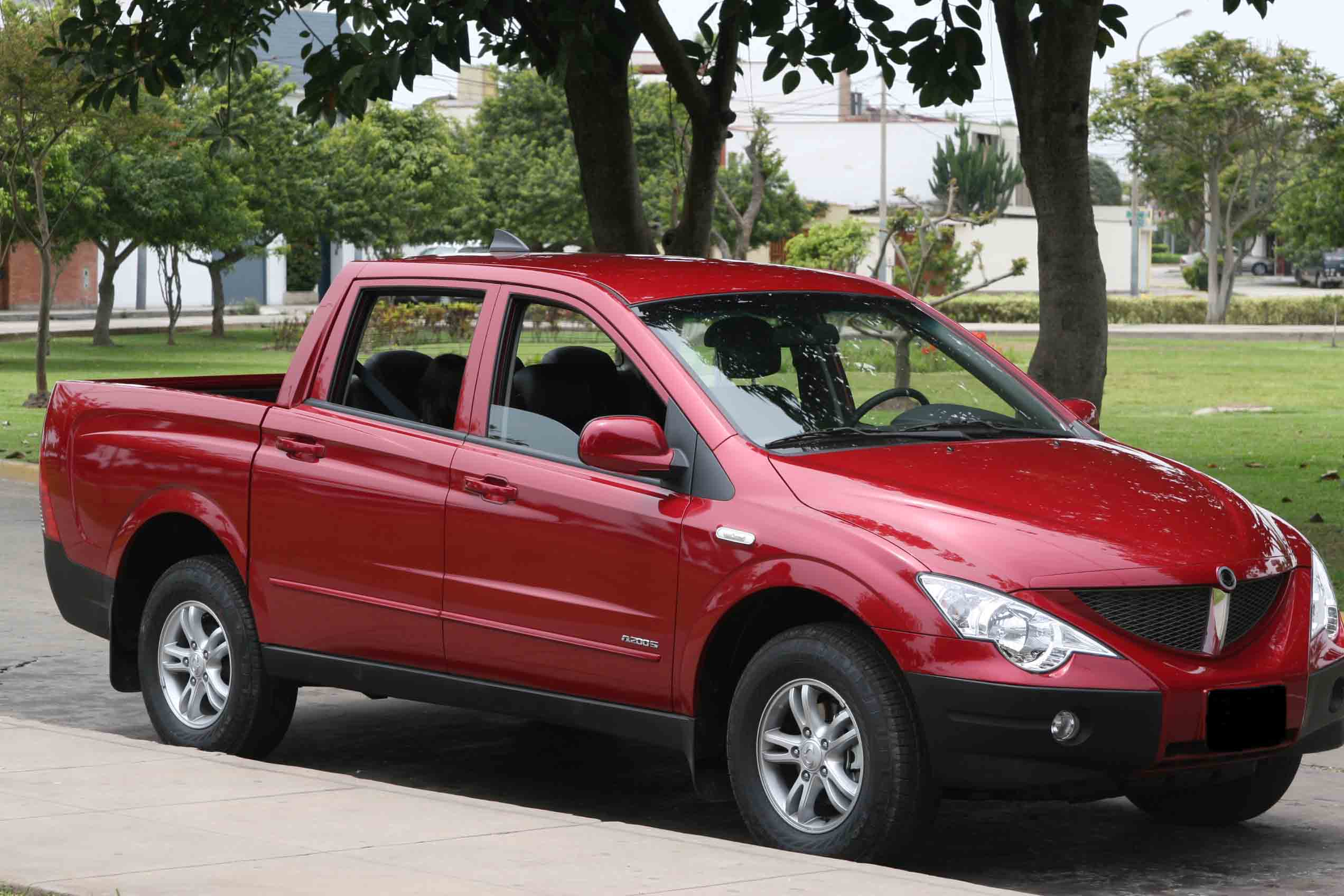 ssangyong actyon sports 2006 images
