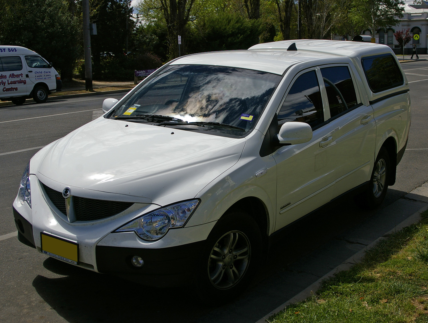 ssangyong actyon sports 2008 models