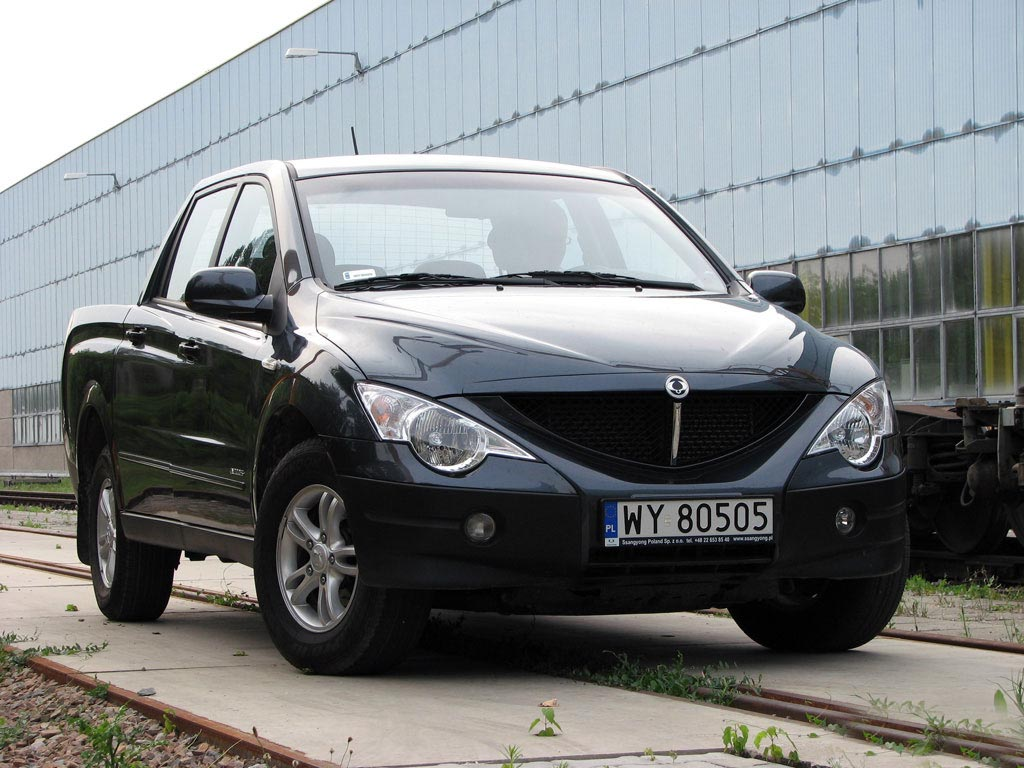 2009 ssangyong actyon sports pictures information and specs auto. Black Bedroom Furniture Sets. Home Design Ideas