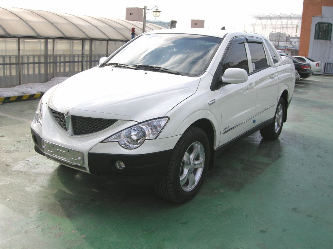 2010 Ssangyong Actyon Sports Pictures Information And Specs Auto Database Com