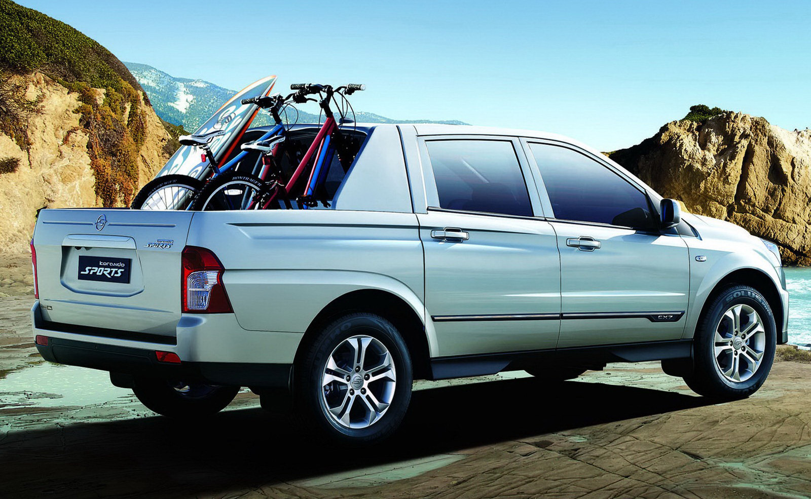 ssangyong actyon sports 2012 images