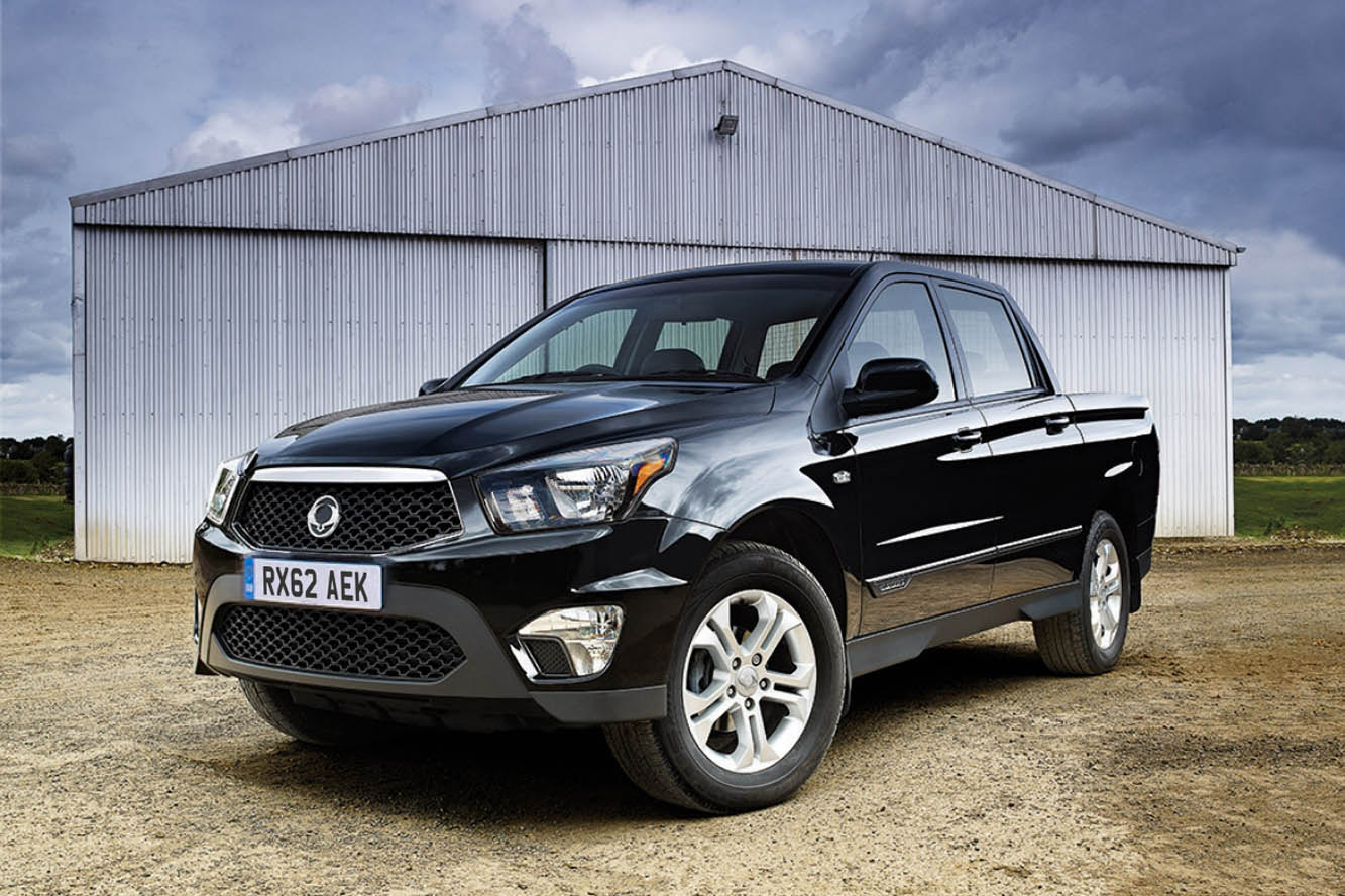 ssangyong actyon sports 2012 pics