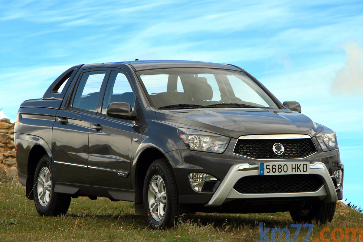ssangyong actyon sports 2015 wallpaper