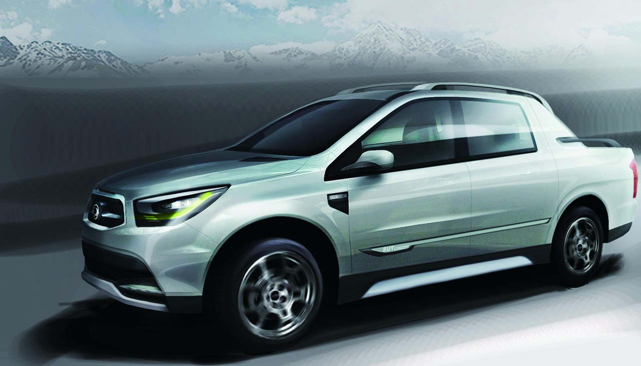 2016 Ssangyong Actyon sports   pictures, information and specs