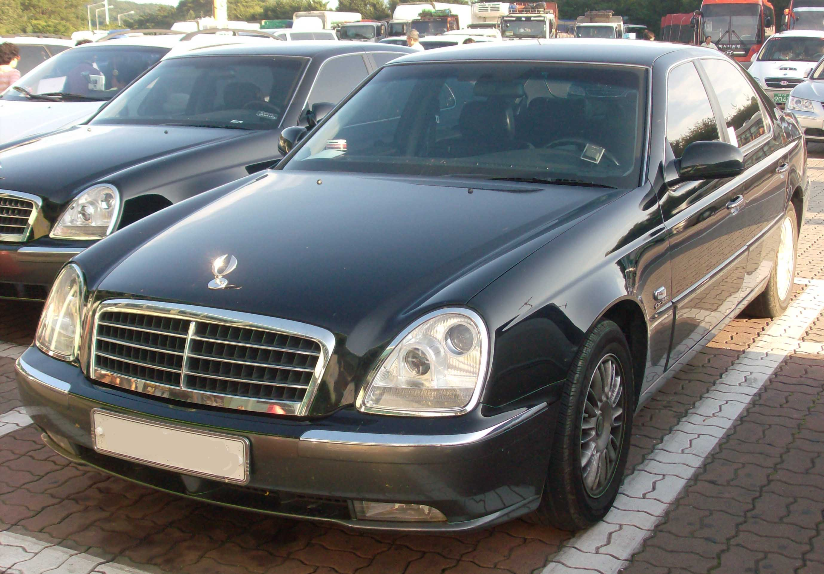 ssangyong chairman (w124) 2012 images