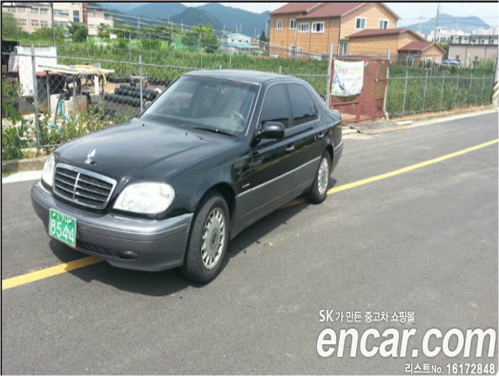 ssangyong chairman (w124) 2012 pictures