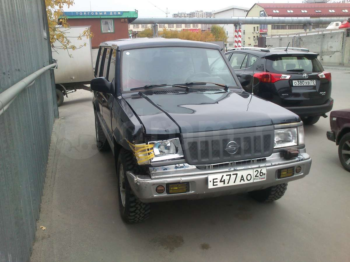 ssangyong family 1993 models