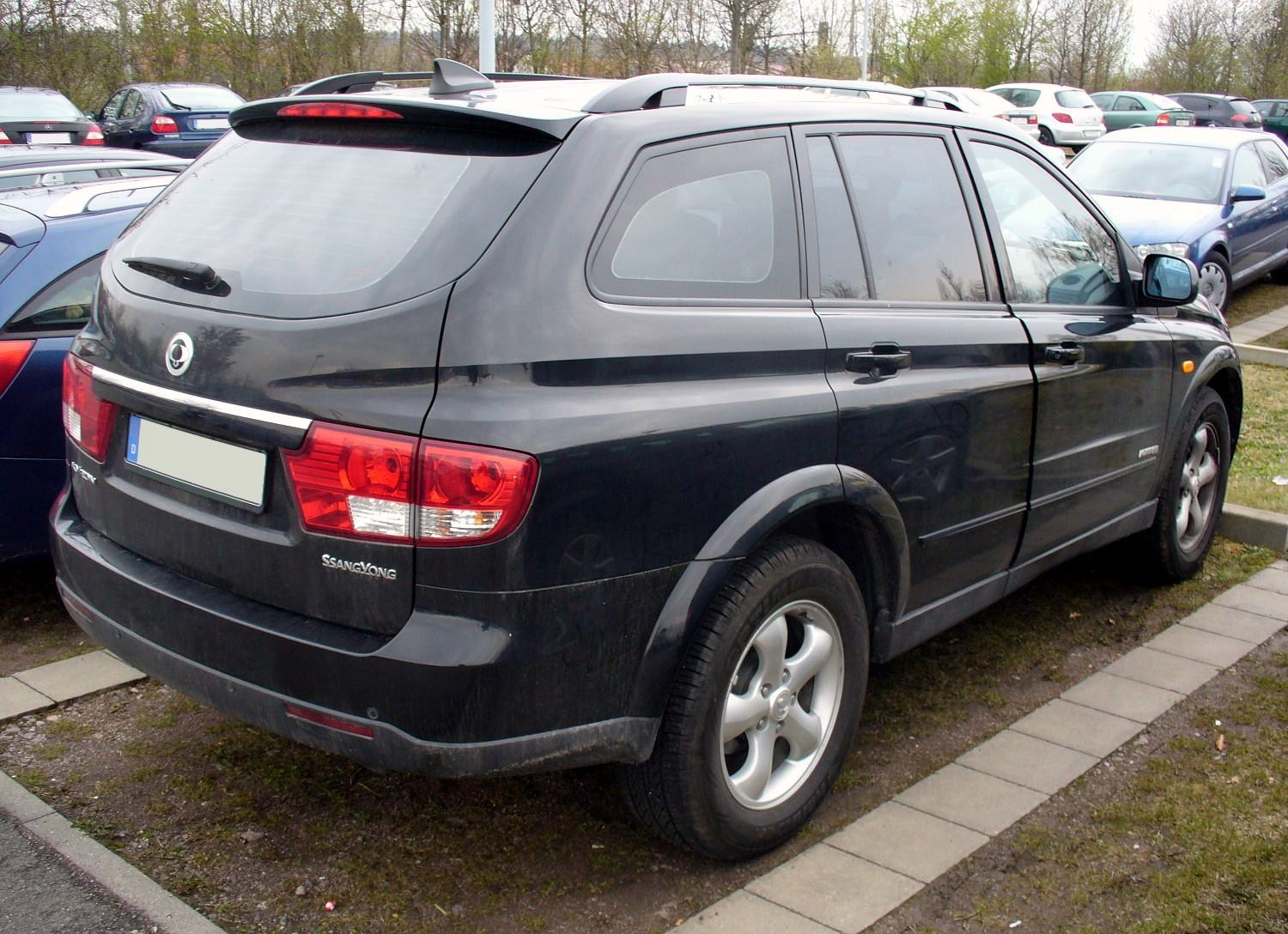 ssangyong kyron ii 2009 images #15