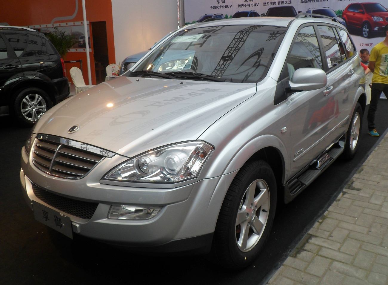 ssangyong kyron ii 2012 #12