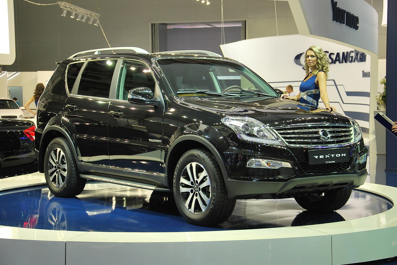 ssangyong kyron ii 2012 pictures #13