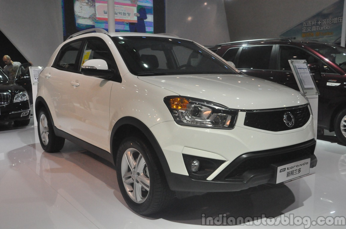 ssangyong kyron ii 2016 #8