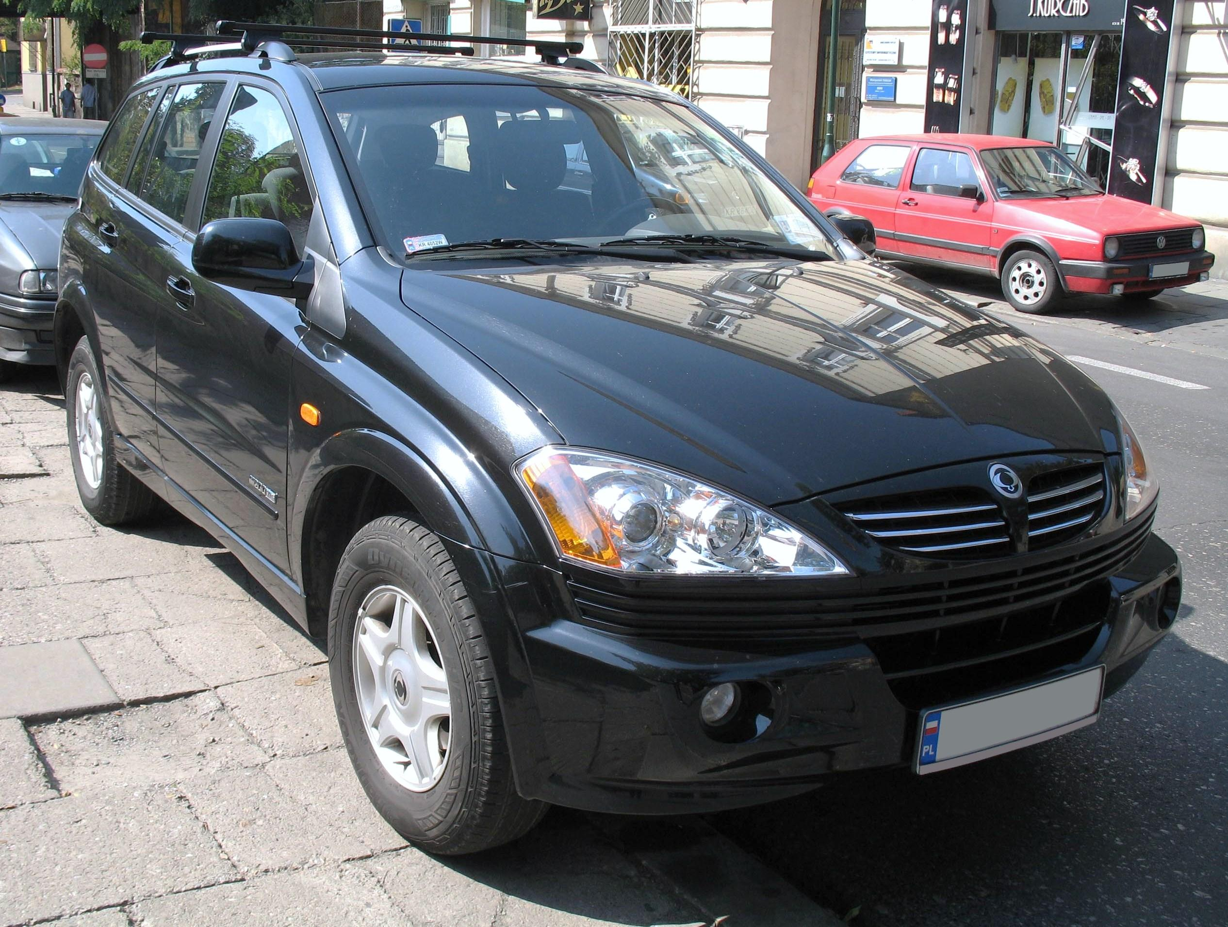 ssangyong kyron images