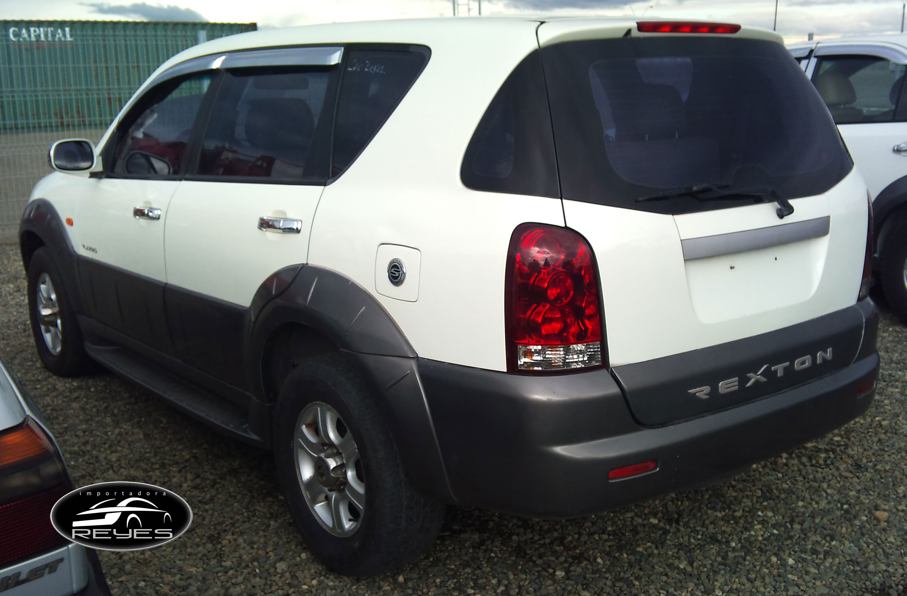 ssangyong rexton i 2002 images