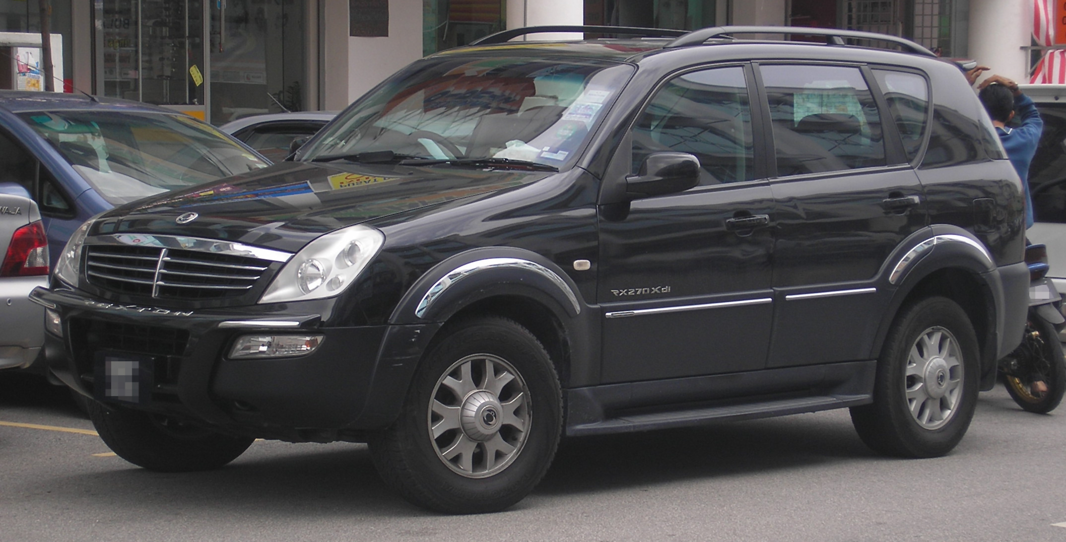 ssangyong rexton i 2002 pictures
