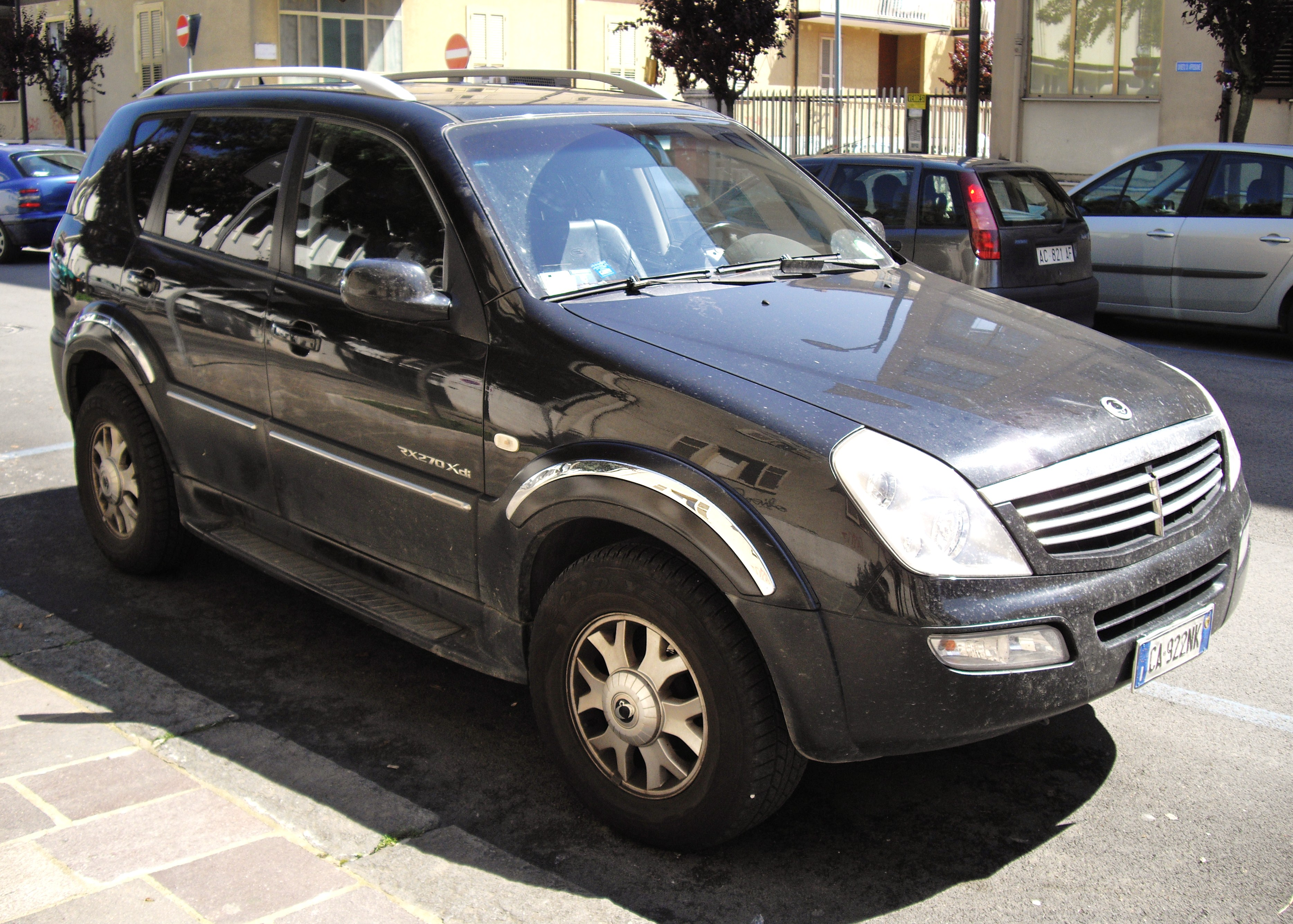 ssangyong rexton i 2005 images