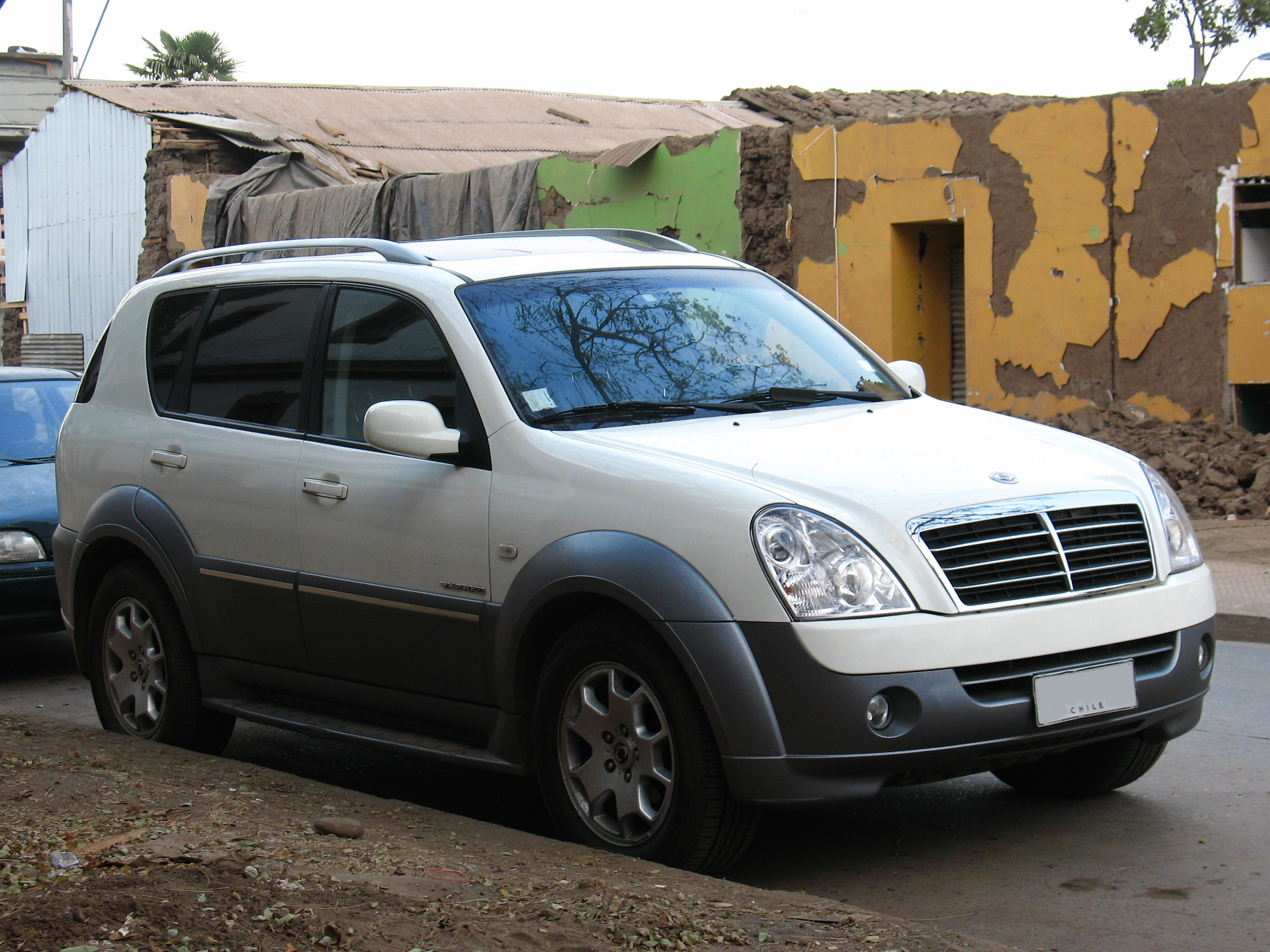 ssangyong rexton ii 2007 images