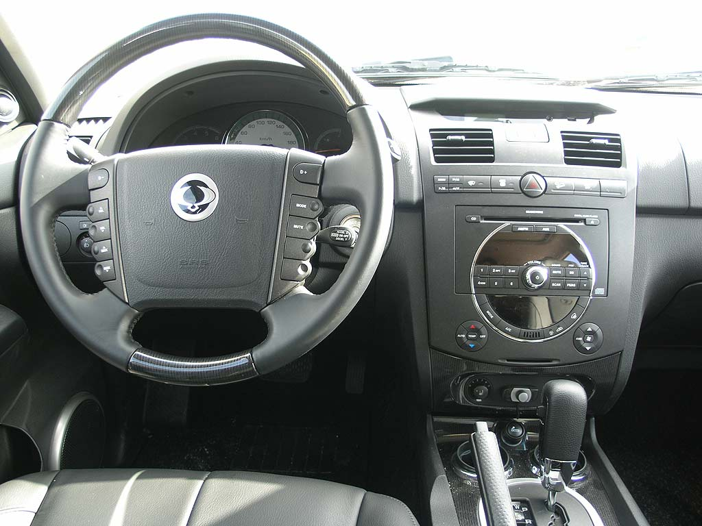 ssangyong rexton ii 2007 pictures