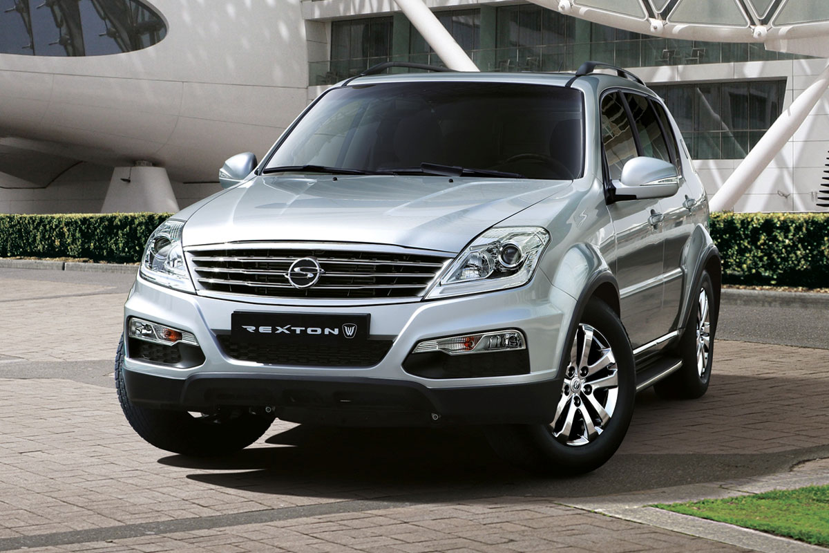 ssangyong rexton images