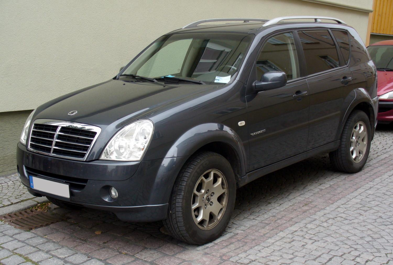 ssangyong rexton pictures
