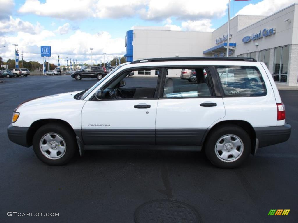 2001 Subaru Forester Lifted