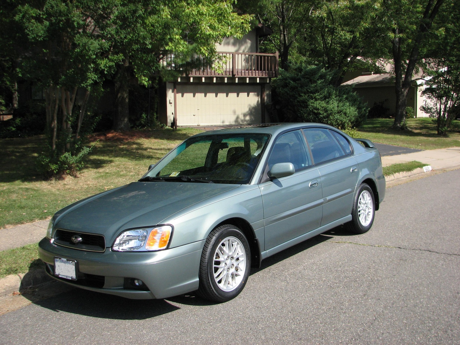 subaru legacy outback iii 2003 pictures