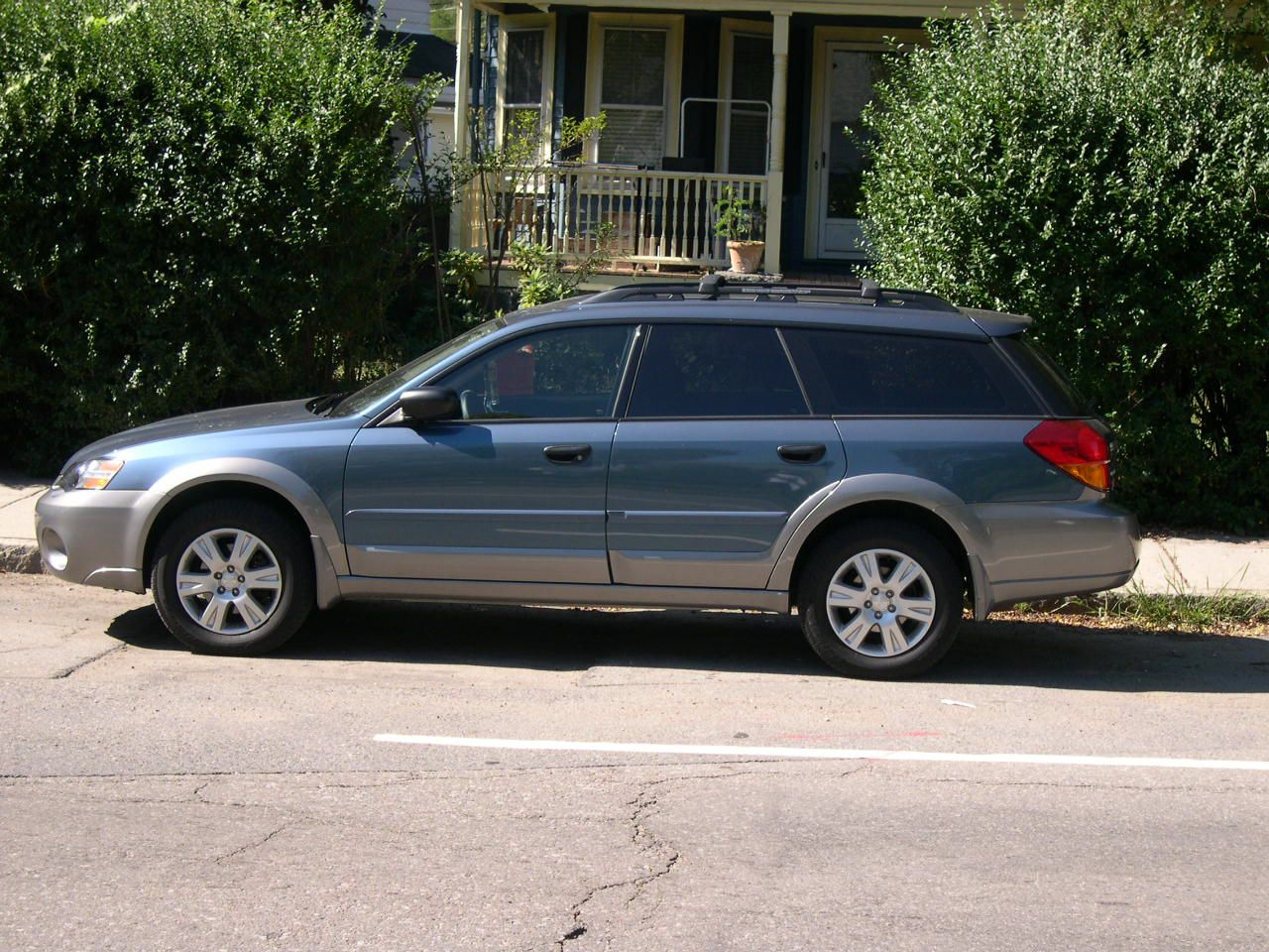 subaru legacy outback iii 2005 pictures