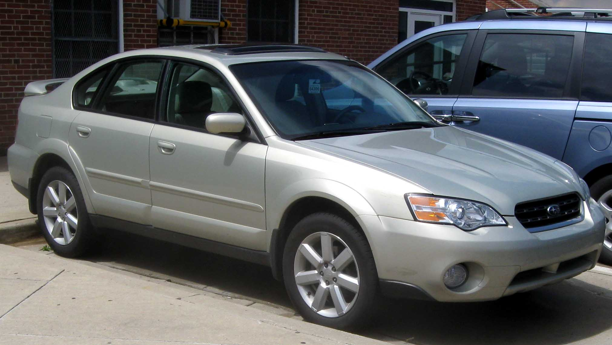 subaru legacy outback iv 2009 pictures