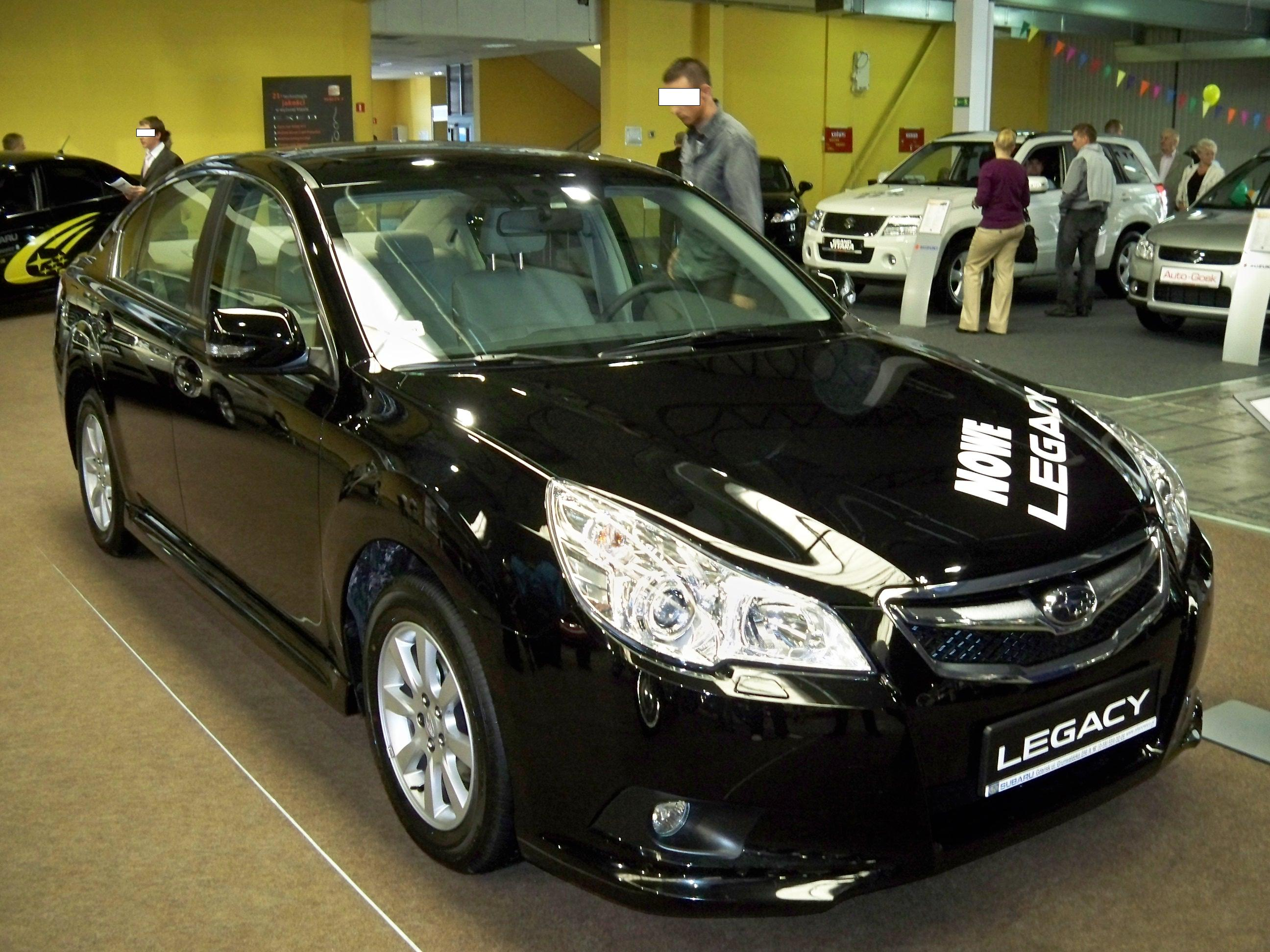 subaru legacy v 2009 pictures