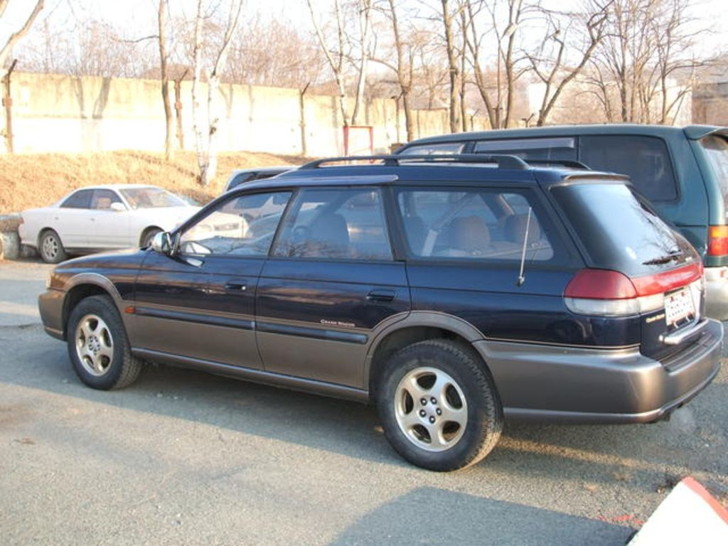 1995 Subaru Legacy Wagon The Engine Diagram 2 Pictures Information And Specs Auto