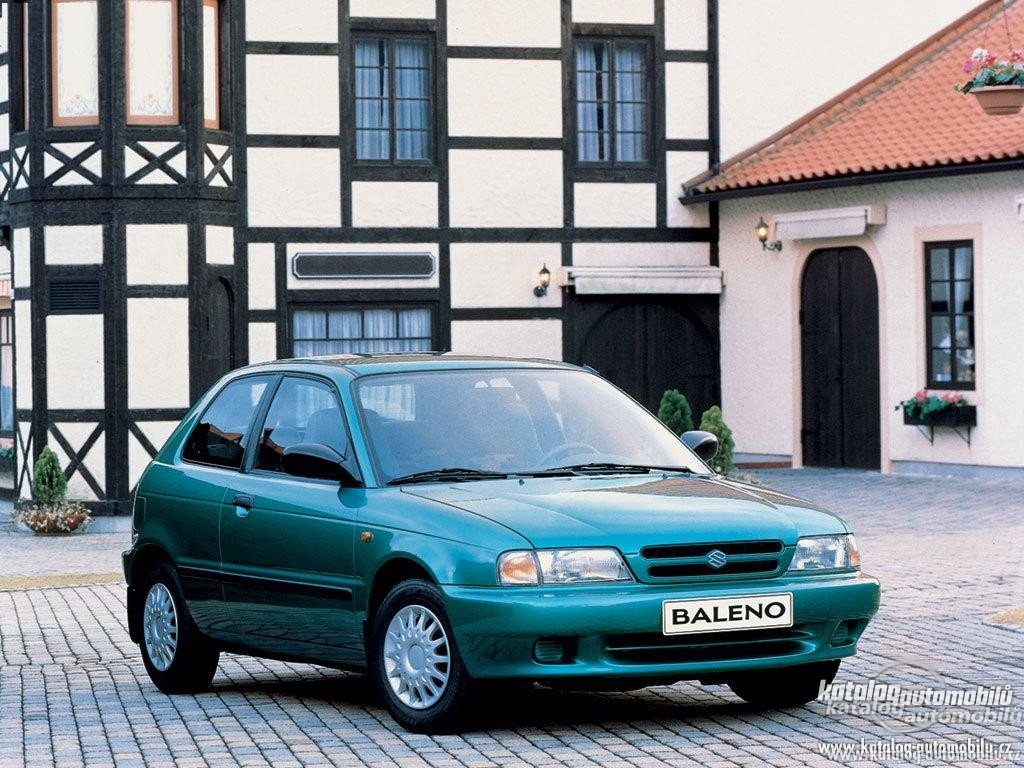 suzuki baleno hatchback (eg) 1998 wallpaper