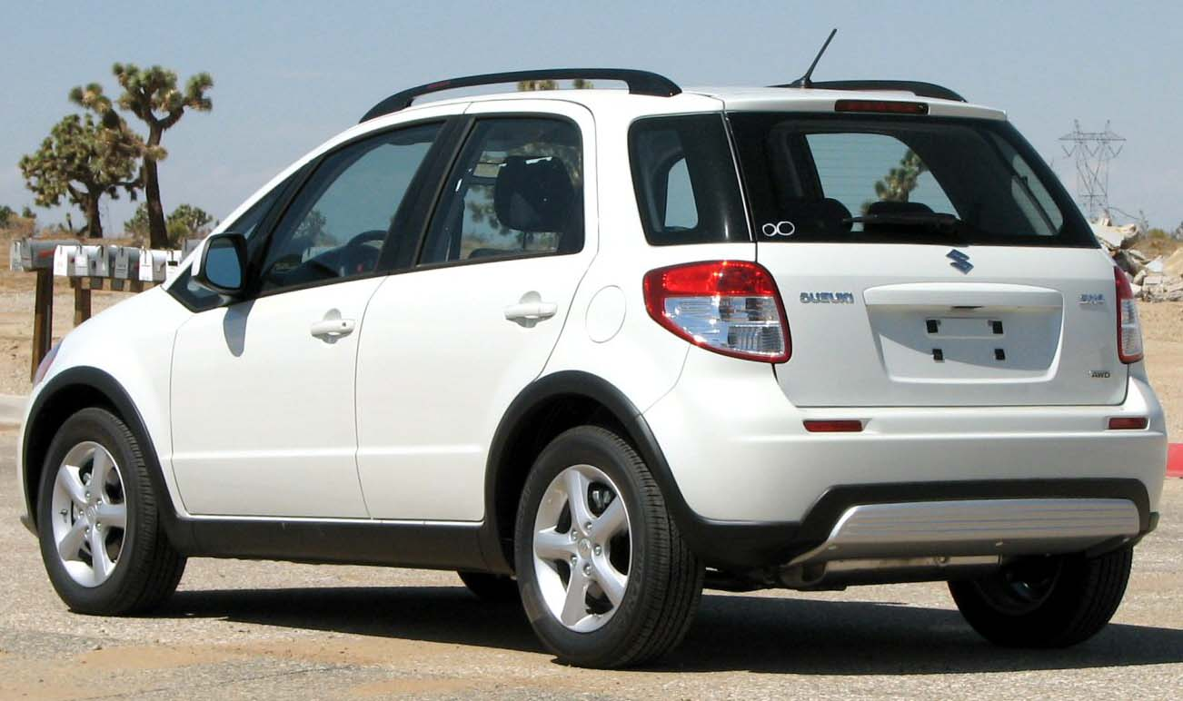 2008 suzuki sx4 pictures information and specs auto. Black Bedroom Furniture Sets. Home Design Ideas
