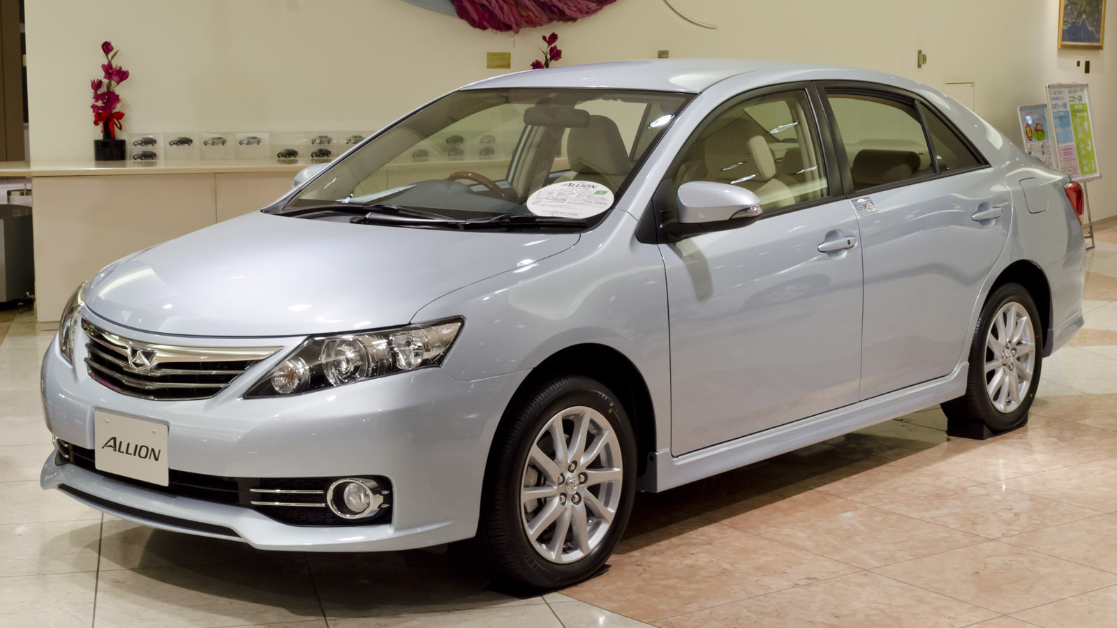 Toyota Allion   pictures, information and specs - Auto-Database.com