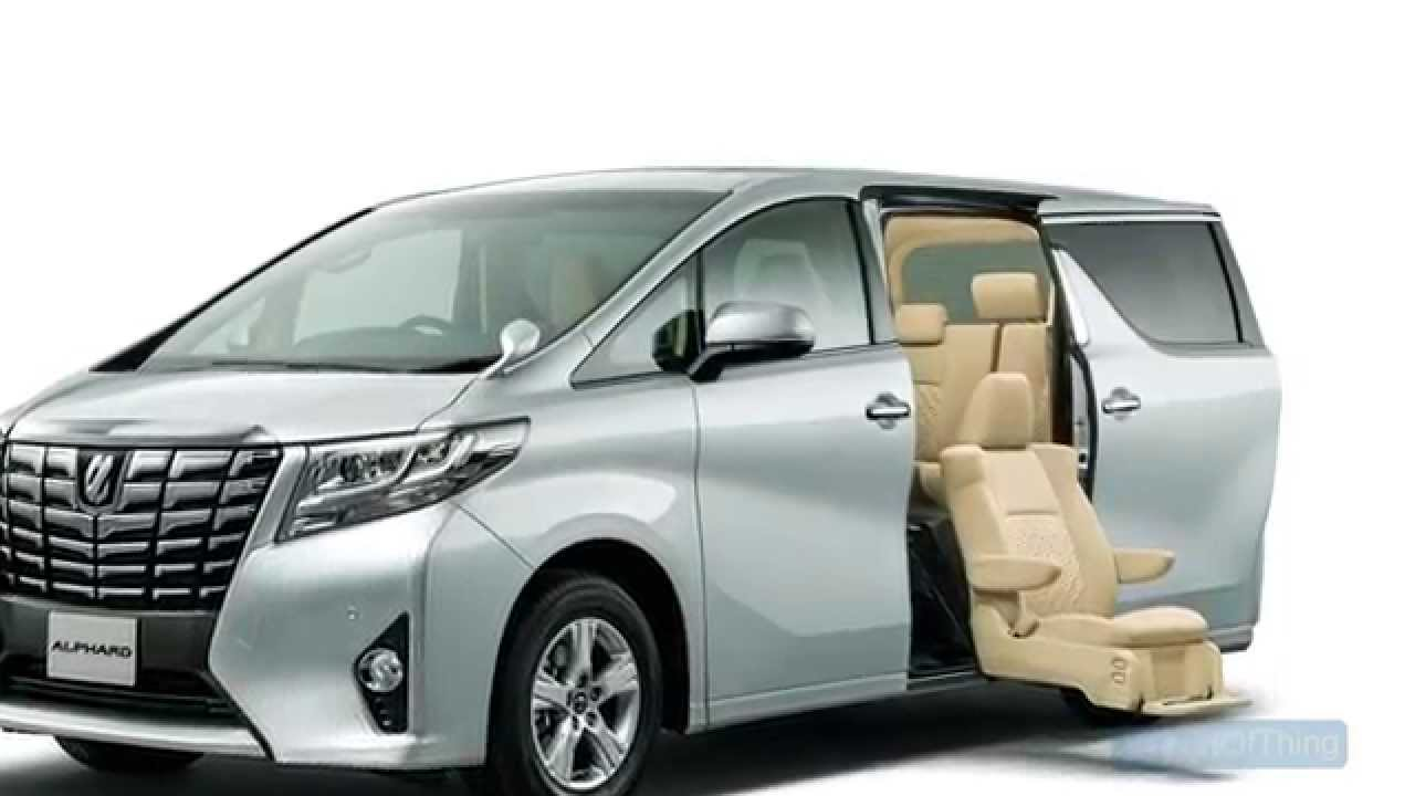 2016 Toyota Alphard Pictures Information And Specs
