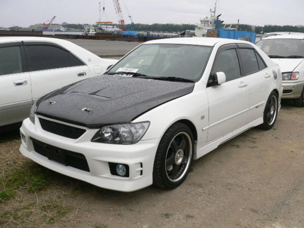 2000 Toyota Altezza   pictures, information and specs - Auto