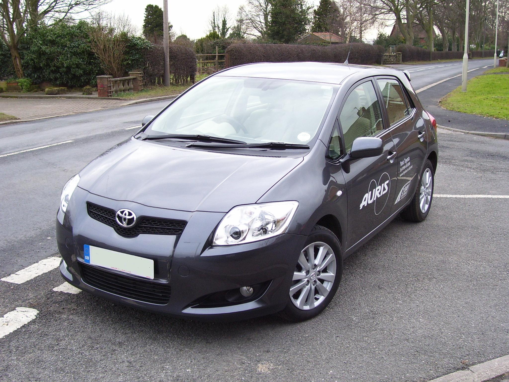 2007 toyota auris pictures information and specs auto. Black Bedroom Furniture Sets. Home Design Ideas