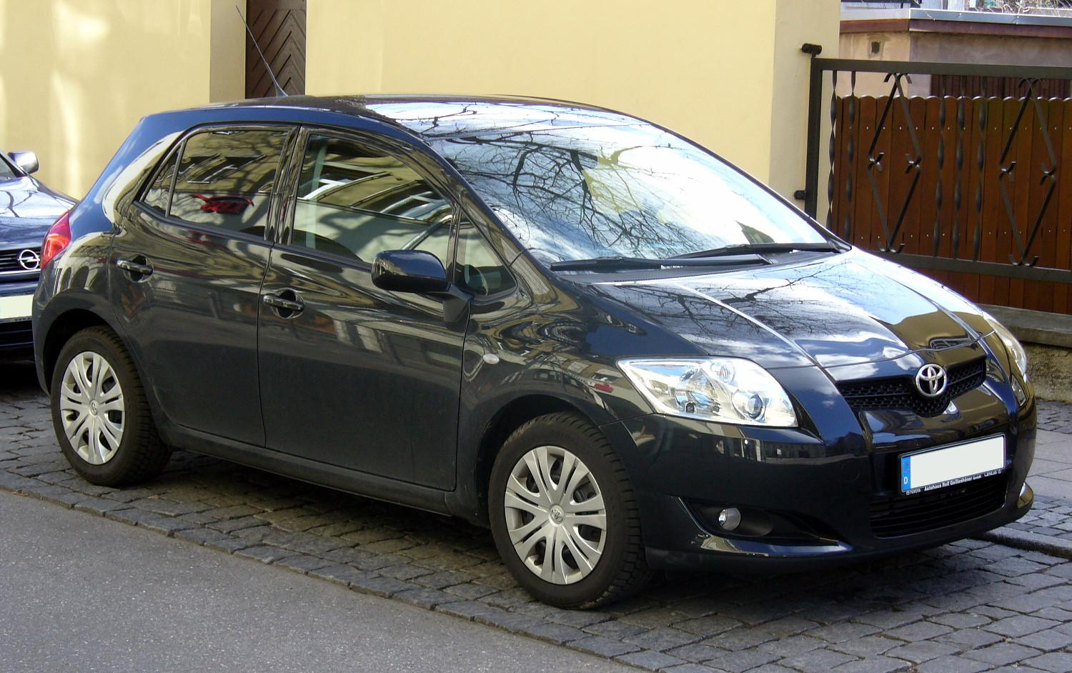 2008 toyota auris pictures information and specs auto. Black Bedroom Furniture Sets. Home Design Ideas