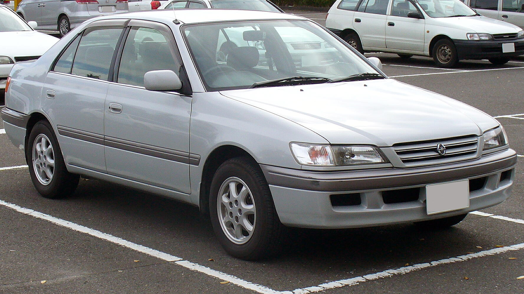1999 Toyota Camry station wagon (xv20) – pictures, information and ...